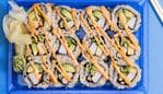 Beware, sushi can be a healthy and unhealthy option. Picture: iStock.