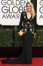 Busy Philipps attends the 74th Annual Golden Globe Awards at The Beverly Hilton Hotel on January 8, 2017 in Beverly Hills, California. Picture: Getty