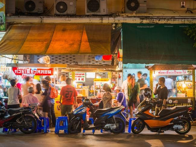 Many street food vendors in Bangkok have been turfed out on order of the government.