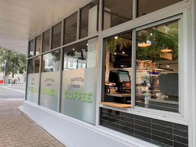 The new Woolworths Metro in Kirribilli is selling barista-made coffee.