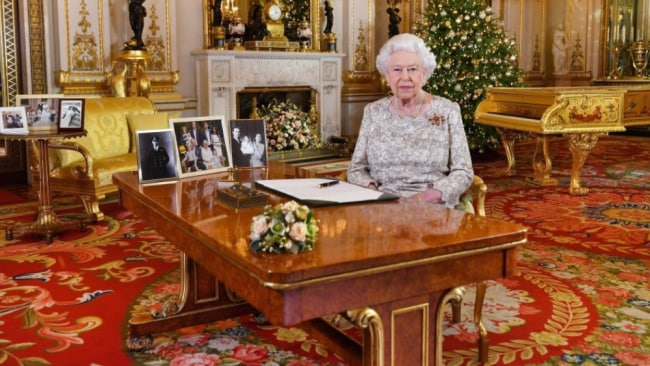 The Queen delivered her annual message to the nation this afternoon. Image: PA Press Association
