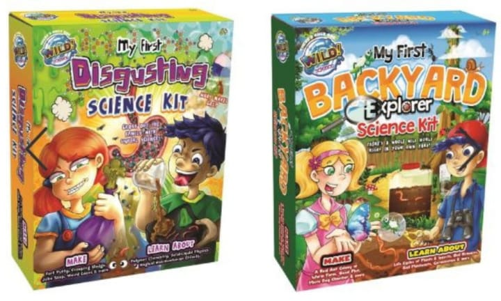 <b>8. MY FIRST SCIENCE KIT.</b> Give the gift of knowledge with one of these cool science kits. Kids can learn fun facts about body parts, products and become completely grossed out as you take science to a whole new level. $20.00 at Big W.