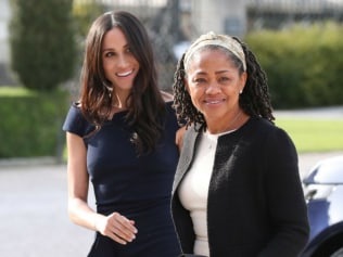 Meghan Markle and her mother, Doria Ragland will be weighed before and after Christmas lunch. Image: Getty