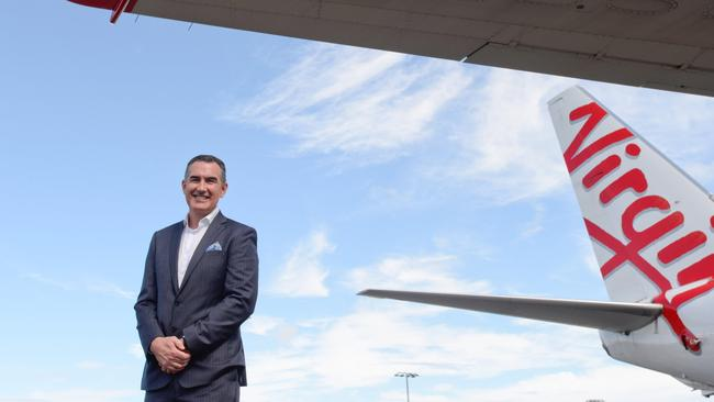 CEO of Virgin Australia, Paul Scurrah, said in 2019 that every flight on their network would be under review. Picture: Piper/Virgin