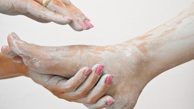 Women no longer like to get their hands dirty when it comes to pedicures. Picture: Russell Millard.