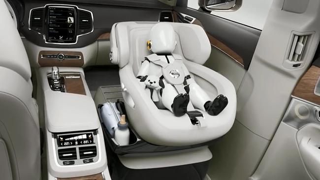 Volvo Baby Car Seat The Excellent Child Seat Concept Puts