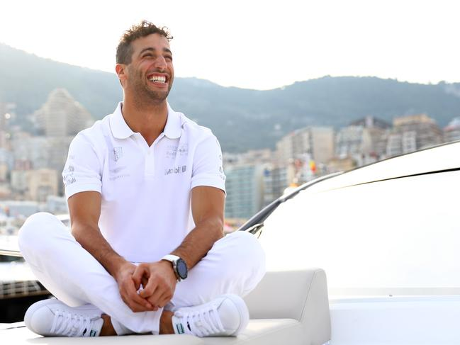 Daniel Ricciardo also owns an apartment in the highly-coveted Monaco market. (Photo by Dan Istitene/Getty Images)