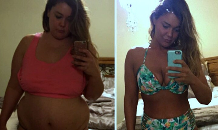 Mum took a selfie a day to document her epic 57kg weight loss