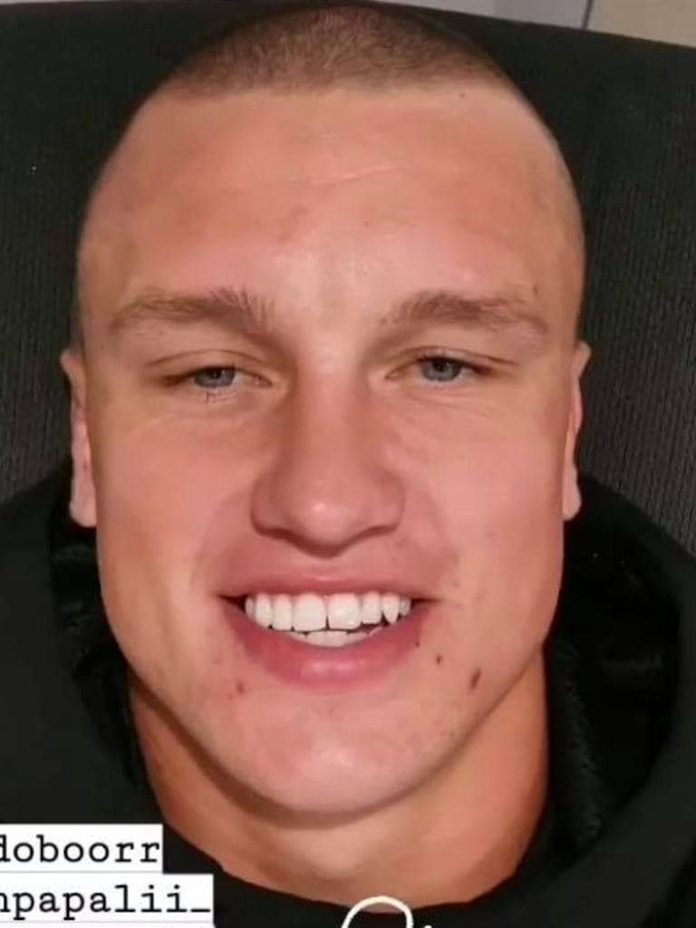 Jack Wighton also opted to shave his head.