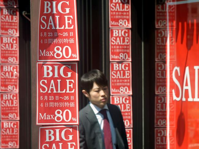 But beware the emotional appeal of the discount. Picture: Photo by Kazuhiro NOGI / AFP