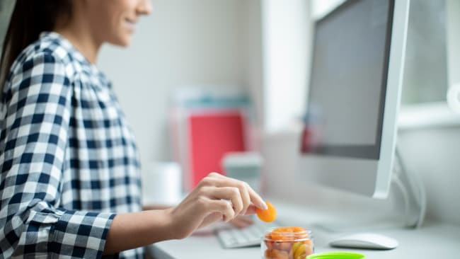 Banish the biscuit jar by pre-planning healthy snacks. Image: iStock