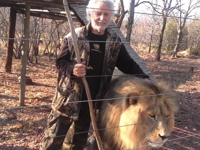 Leon van Biljon was attacked by the animals as he was fixing a broken fence inside the enclosure.