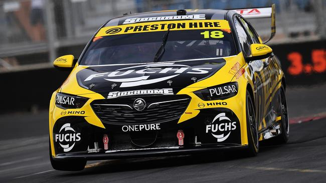 Lee Holdsworth sat at the top of the timesheets for most of the half-hour session before finishing third.