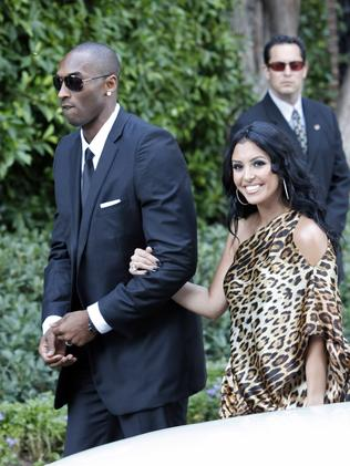 At the wedding of Khloe Kardashian and LA Lakers forward Lamar Odom. (Photo by Jean Baptiste Lacroix/WireImage)