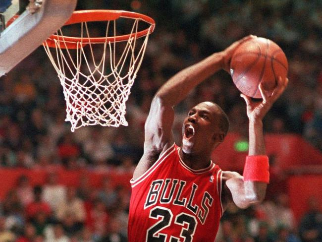 Michael Jordan is considered perhaps the greatest basketball player of all time. Picture: AP