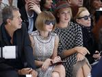 Mario Testino, Anna Wintour and Maria Sharapova attend Chanel's Spring/Summer 2016 women's ready-to-wear show during Paris Fashion Week. Picture: Reuters