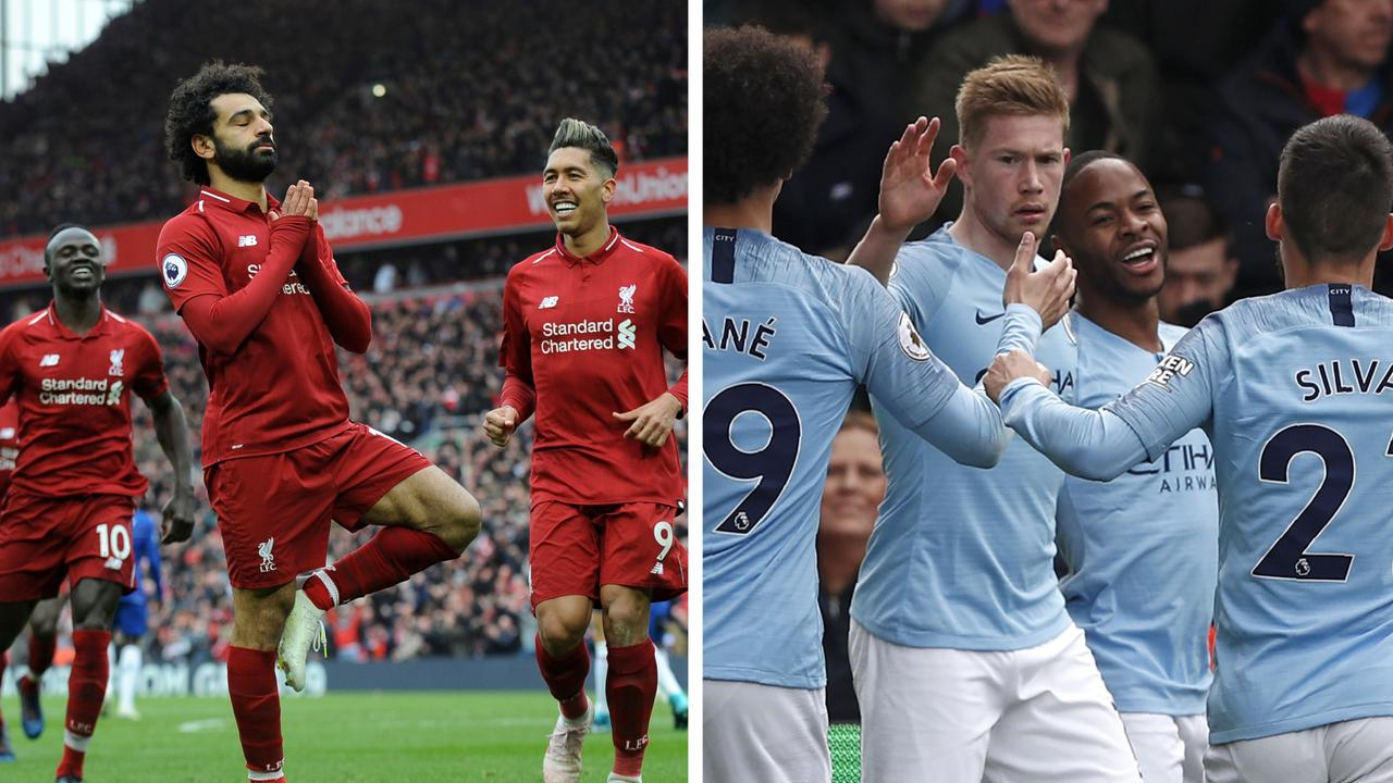 The Premier League title race is going to the wire