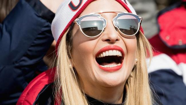 Ivanka Trump attended PyeongChang 2018 Winter Olympic Games at the request of her father US President Donald Trump. Image: Getty