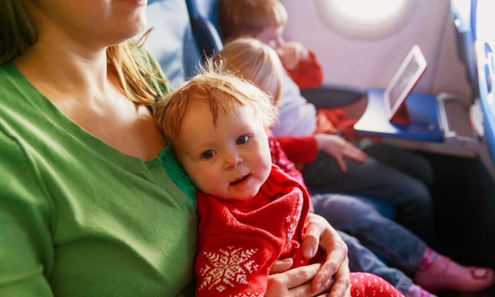 The $3 Kmart item that will save your sanity while flying with kids