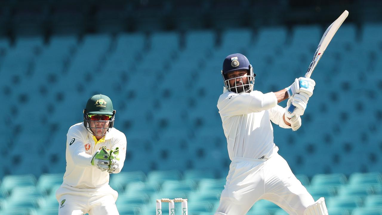India's Murali Vijay in action. Picture. Phil Hillyard