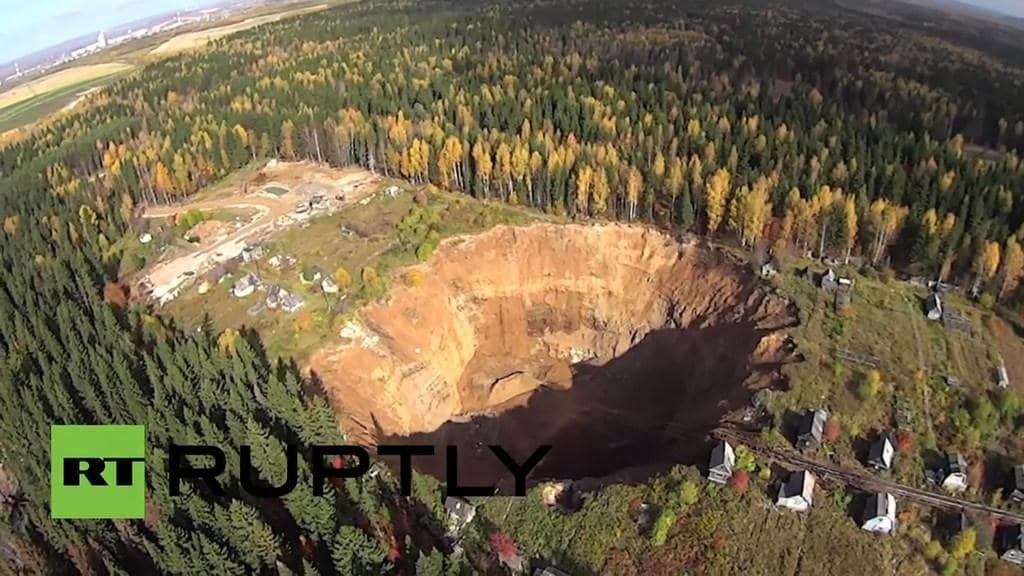 What is a sinkhole?