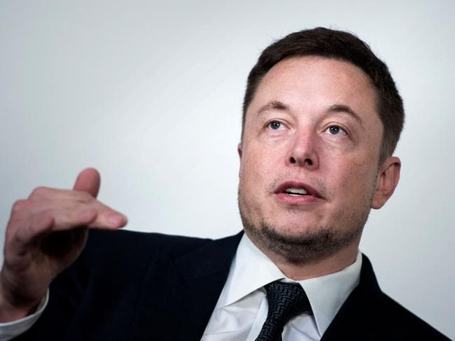 Elon Musk, CEO of SpaceX and Tesla. Picture: AFP