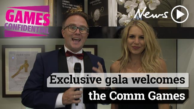 Exclusive gala welcomes the Comm Games