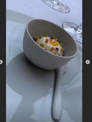 Yet more fancy little dishes.
