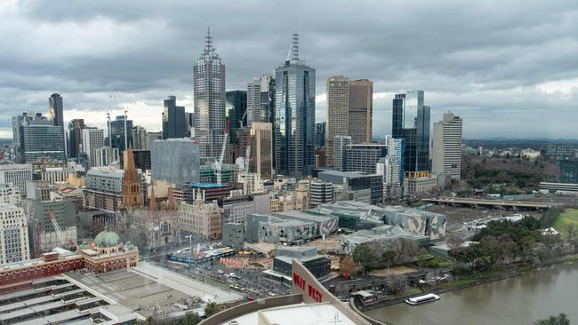 Melbourne home values jumped 1.7 per cent in September — the equal best result of Australia's capitals. Picture: Jason Edwards