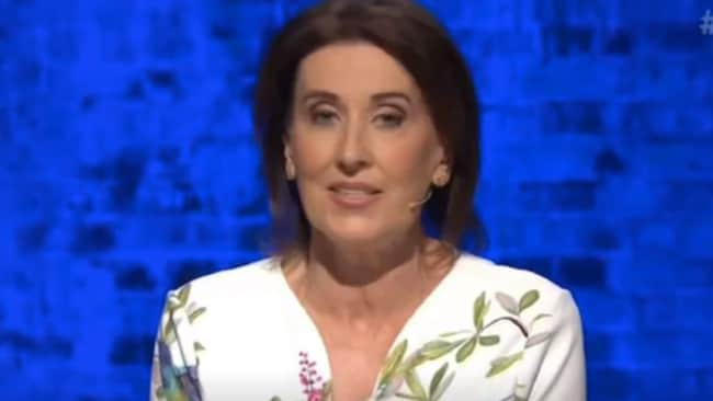 Ms Trioli had hard time keeping the fired-guests in check. Picture: ABC Source: Supplied