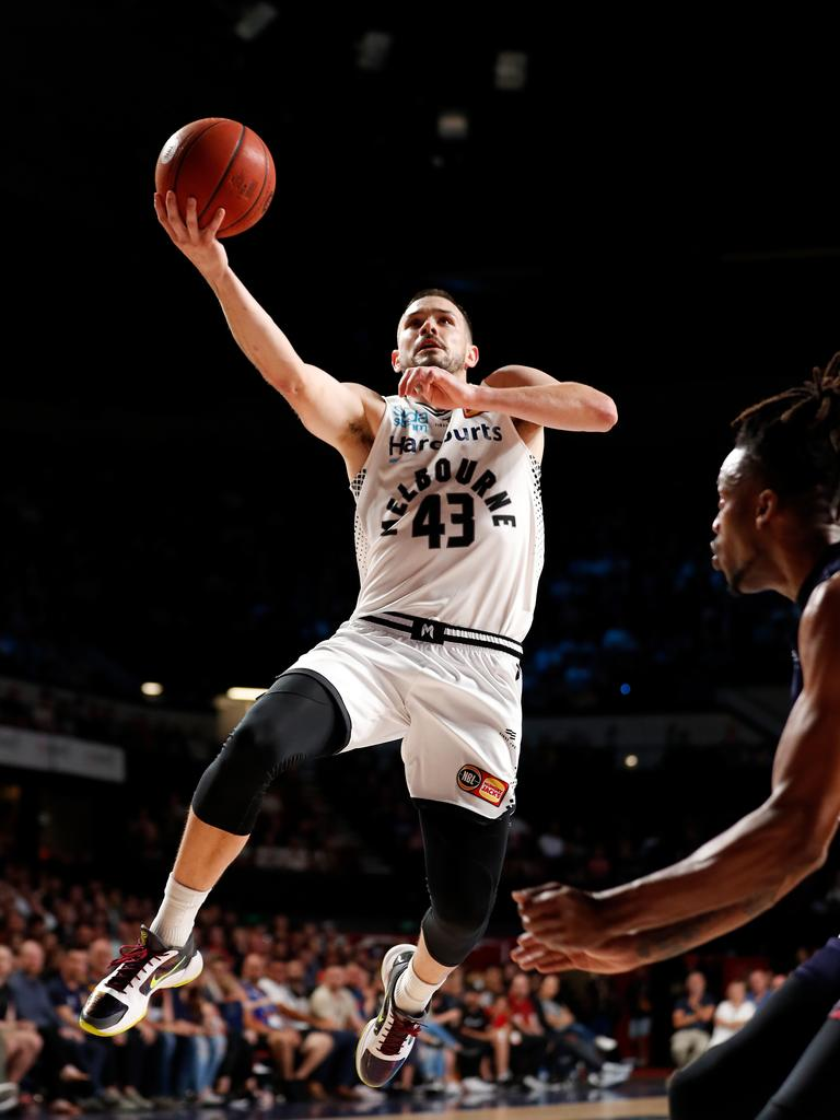 Chris Goulding is one of the senior players in the Boomers squad.