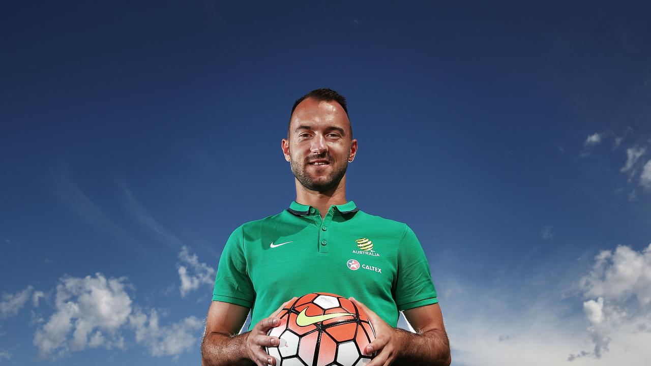 Ivan Franjic during his time with the Socceroos