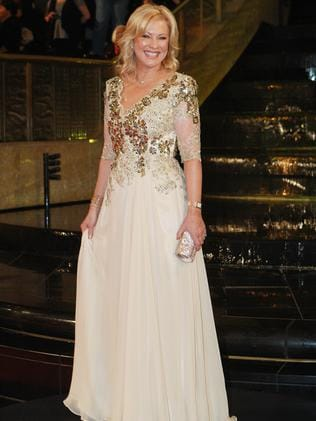 Kerri Anne Kennerley at the 2011 Logie Awards.
