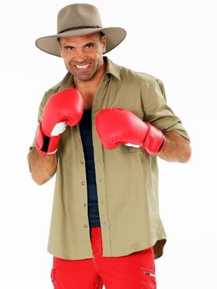 Anthony Mundine in I'm A Celebrity ... Get Me Out Of Here! Picture: Supplied
