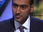 Supplied Editorial Waleed Aly on The Project with Scott Morrison