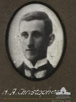 Studio portrait of H.A. Christophers who has not been further identified. One of 131 photographs displayed on an honour board showing members of the Adelaide Rowing Club who enlisted for active service in the First World War. The original is held by the Adelaide Rowing Club who kindly loaned the board to the Australian War Memorial for copying.