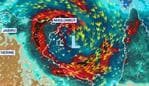 Tropical cyclone. Picture: Sky News Weather