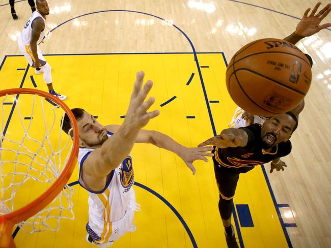 The Warriors will miss Bogut's rim protection.