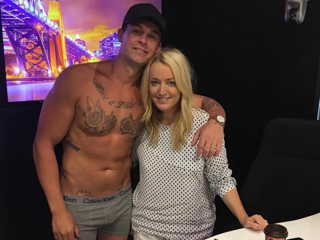 Ryan Gallagher from MAFS was a guest on Kyle and Jackie O's Naked Dating.