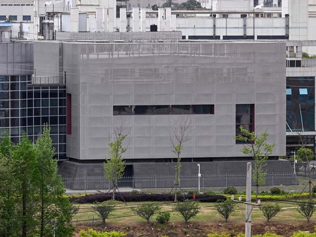 The P4 laboratory at the Wuhan Institute of Virology in Wuhan in China's central Hubei province on April 17, 2020. Picture: Hector Retamal