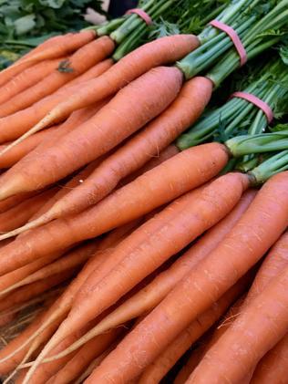 Fresh carrots. Picture: Jenifer Jagielski