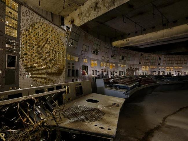 Inside the control room of reactor four that caused the world's largest nuclear accident.