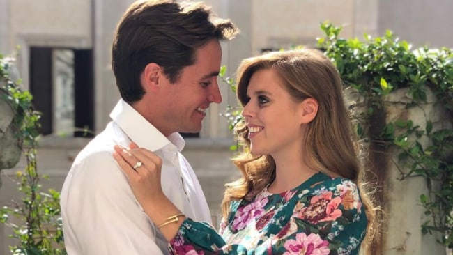 Princess Beatrice announced her engagement in September 2019. Source: Instagram