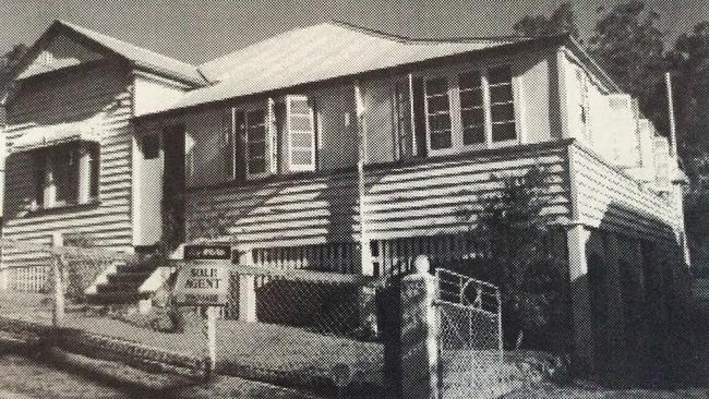 BEFORE: The house at 86 Heussler Tce, Milton, not long after it was built in 1912.