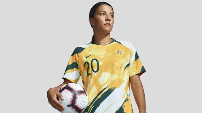 7a755d19617 Matildas unveil new Nike strip for 2019 Women's World Cup