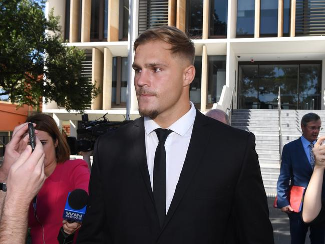Jack de Belin is suing NRL over the new stand down rule. Picture: Dean Lewins/AAP