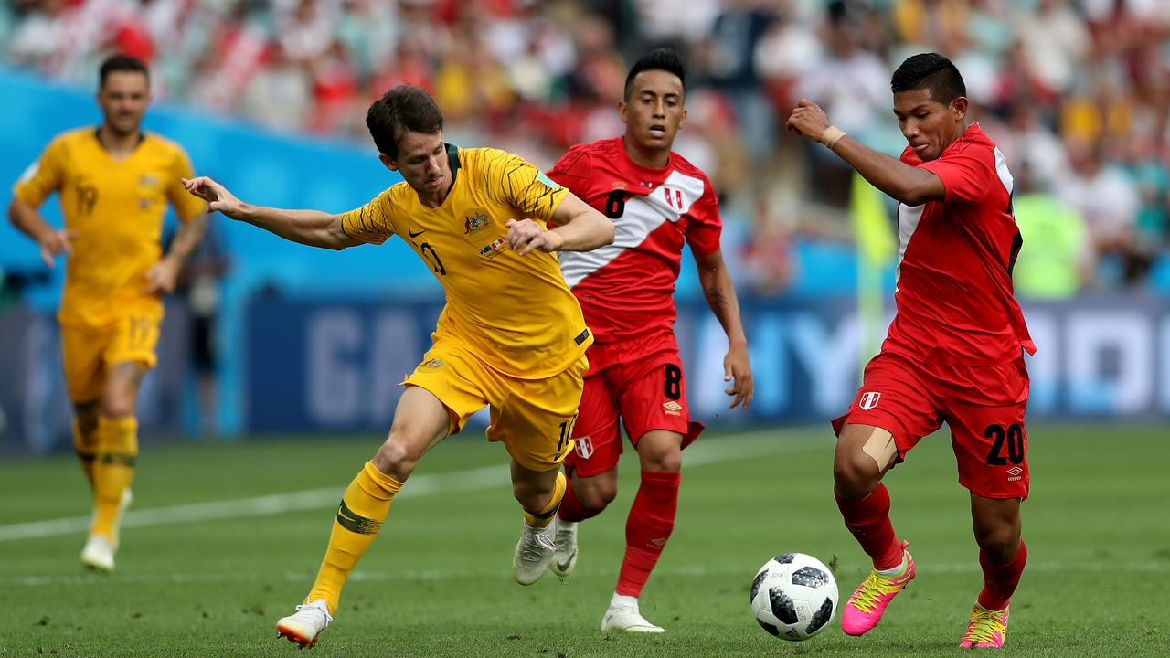 Robbie Kruse put in a better performance after being criticised for his output against Denmark.