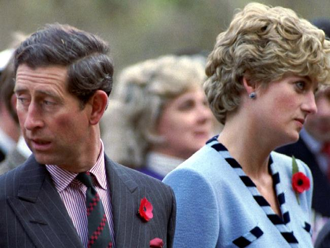Diana and Charles had an unhappy marriage. Picture: Arthur Edwards