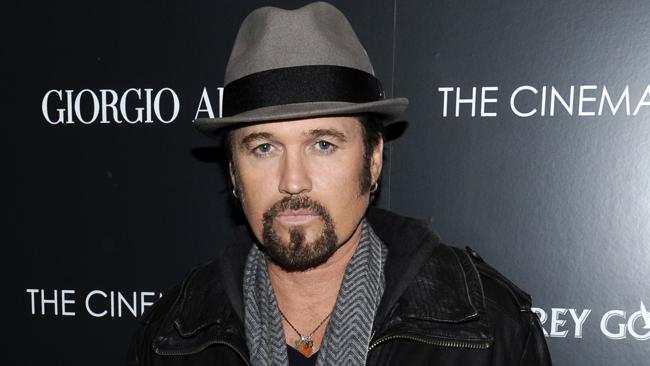 Singer Billy Ray Cyrus was famous for Achy Breaky Heart. Photo: AP