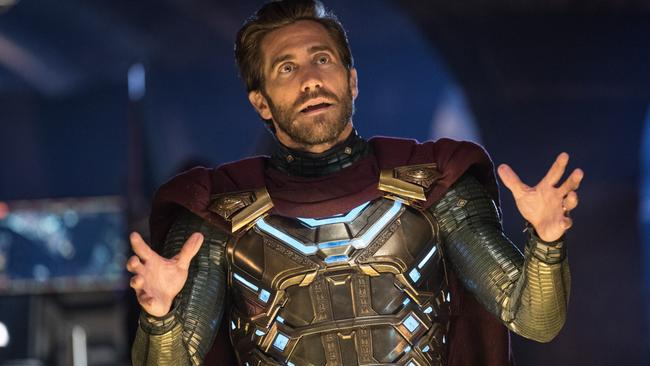 Jake Gyllenhaal as iconic comic book character Mysterio.